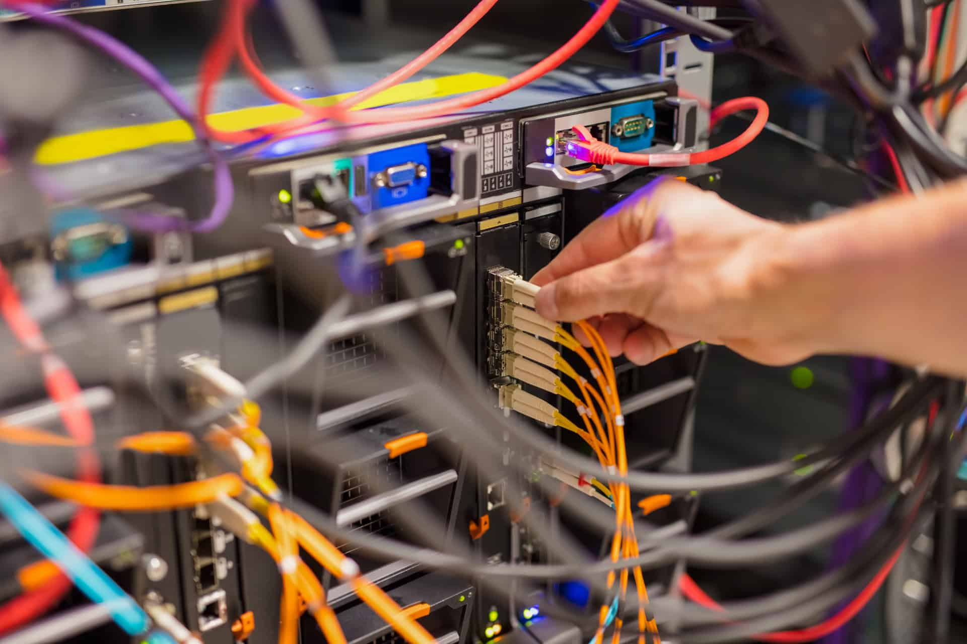 fiber optic networking equipment