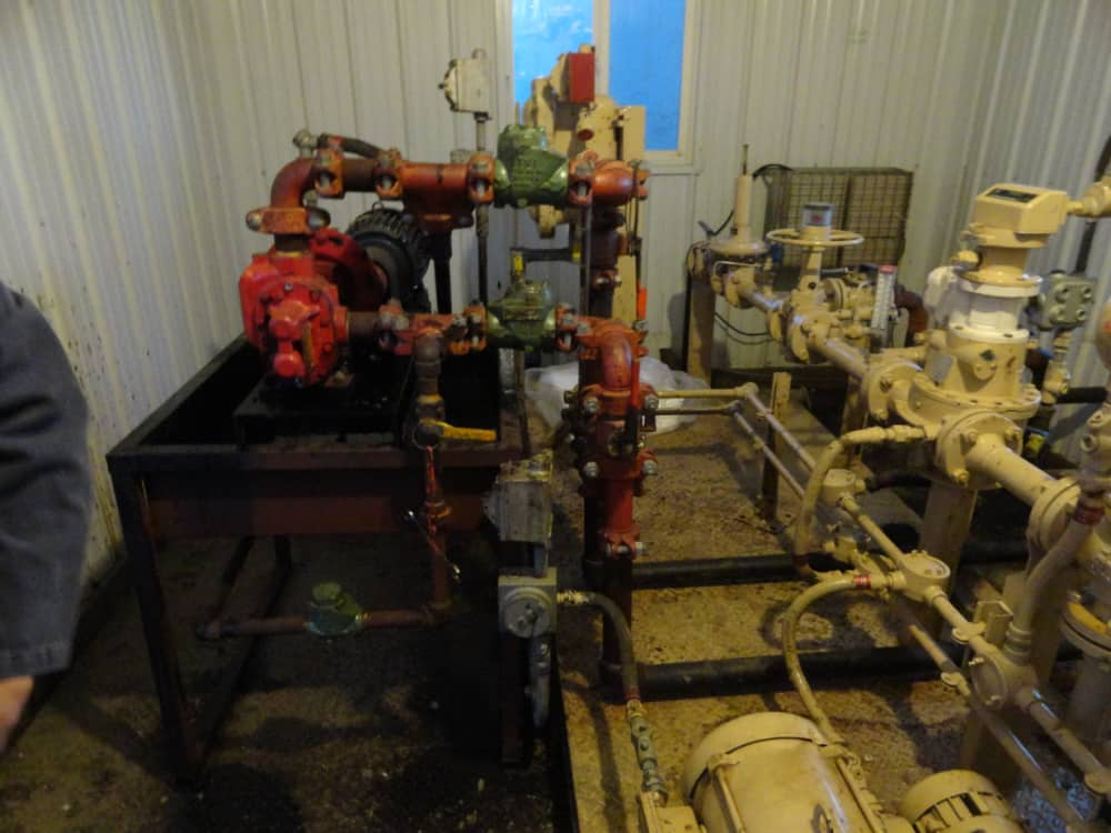 oil field equipment and electrical motor