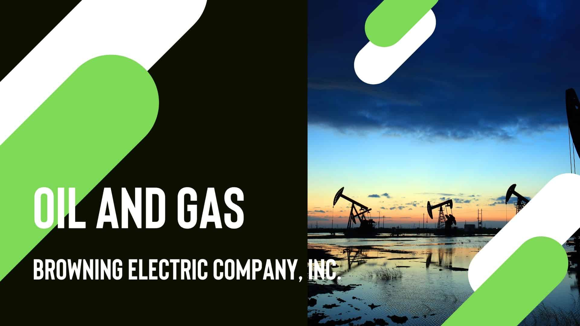 oil and gas electrical services